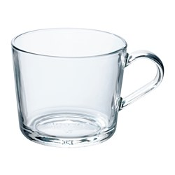 IKEA 365+ - Mug, clear glass