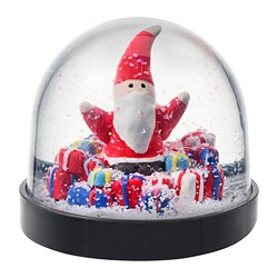VINTERFEST - Bola salju, Santa Claus
