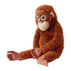 DJUNGELSKOG - Soft toy, orangutan