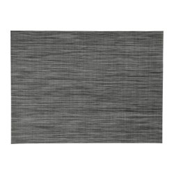 SNOBBIG - Place mat, dark grey