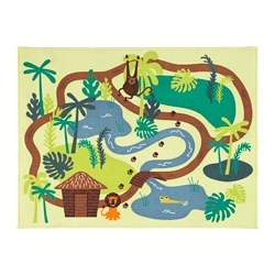 DJUNGELSKOG - Karpet, bulu tipis, hutan/pohon