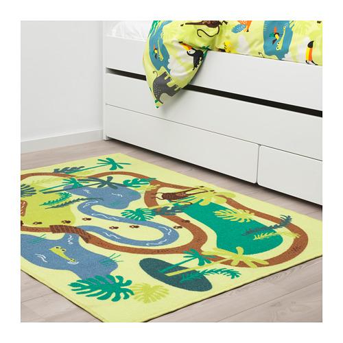 DJUNGELSKOG rug, low pile