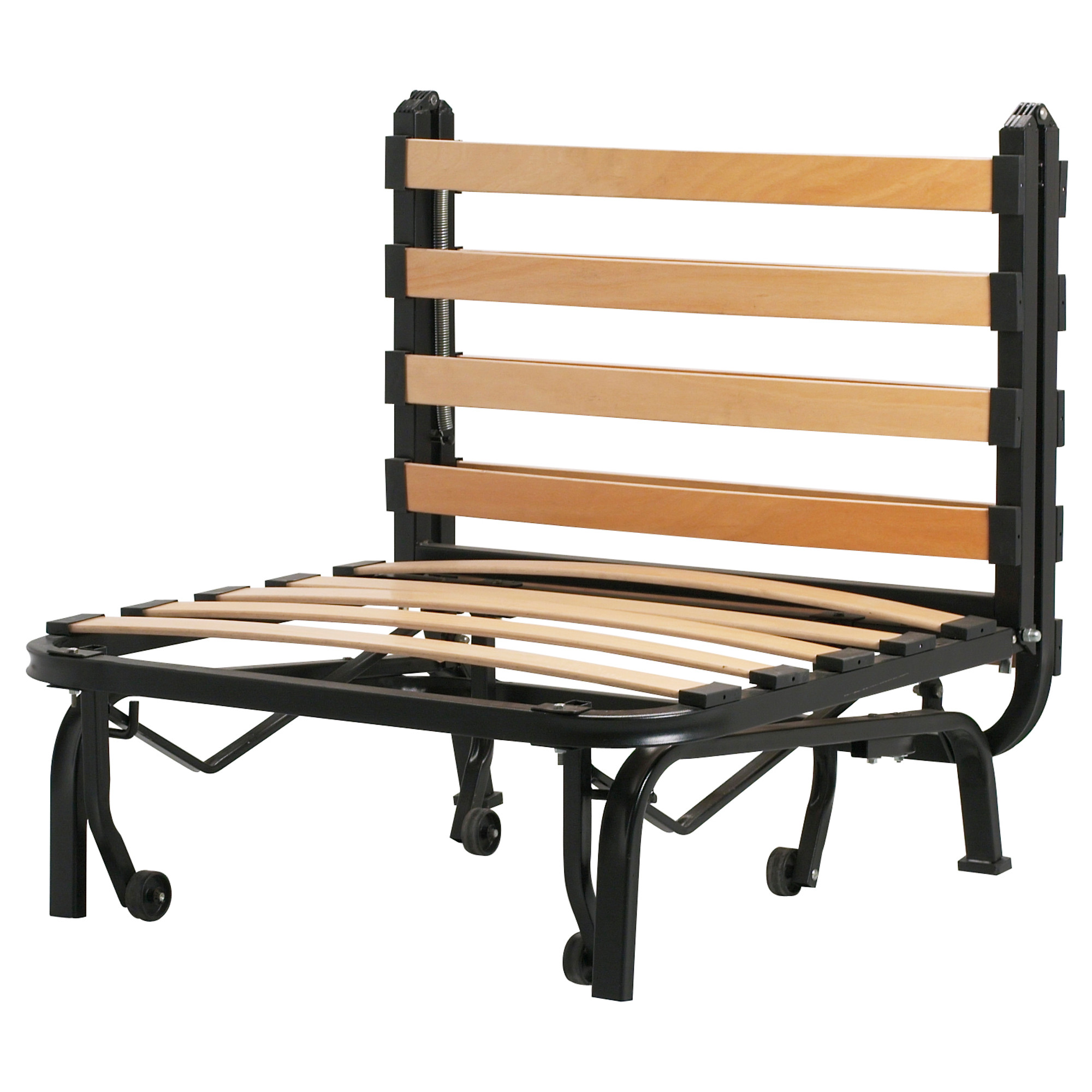 - LYCKSELE Chair Bed Frame, Black IKEA Indonesia