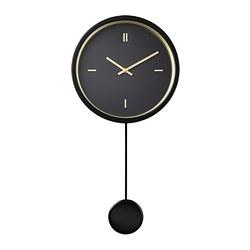 STURSK - Jam dinding, hitam