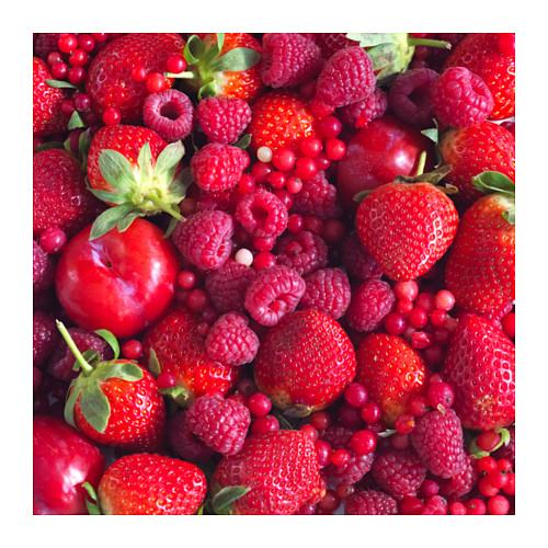 SMÅTREVLIG - lilin beraroma dalam gelas, Berry mix/merah, 7 cm | IKEA Indonesia - PE607481_S4