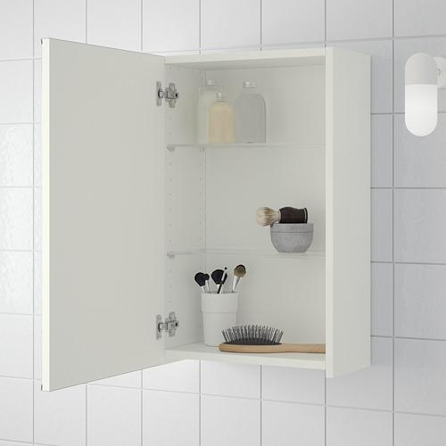 LILLÅNGEN kabinet cermin 1 pintu