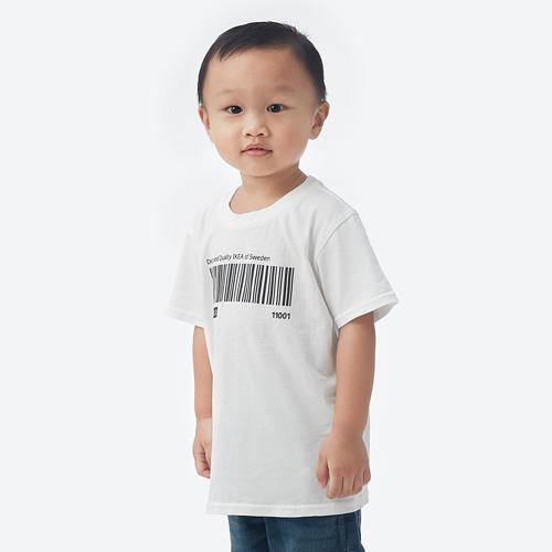 EFTERTRÄDA - t-shirt, putih, 120/128 | IKEA Indonesia - PE807506_S4