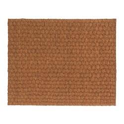 BÖRKOP - Door mat, natural