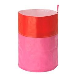 OGUNST - Kantong pemilah sampah, merah/merah muda
