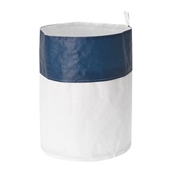 OGUNST - Waste sorting bag, blue/white