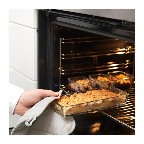 MIXTUR oven/piring saji, set isi 4