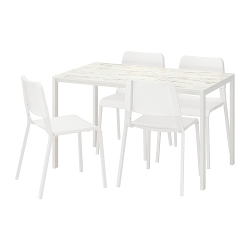 MELLTORP/TEODORES table and 4 chairs