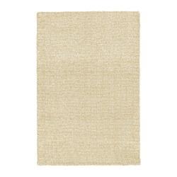 LANGSTED - LANGSTED, karpet, bulu tipis, krem, 170x240 cm