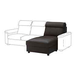 LIDHULT - Bagian chaise longue, Grann/Bomstad cokelat tua