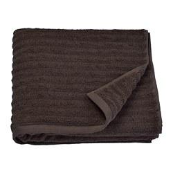 FLODALEN - Handuk mandi, cokelat tua
