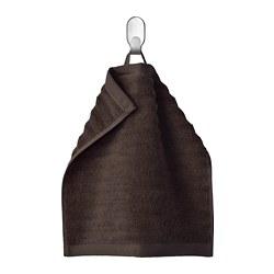 FLODALEN - Handuk kecil, cokelat tua