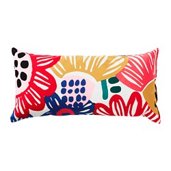 SOMMARASTER - Cushion, white/multicolour