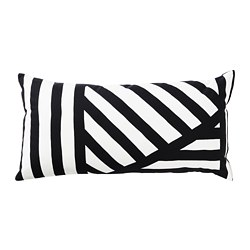 SKÄRVFRÖ - Cushion, black/white