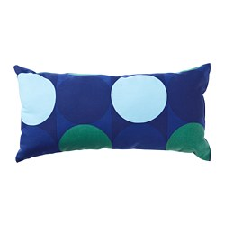 KROKUSLILJA - Cushion, blue/green