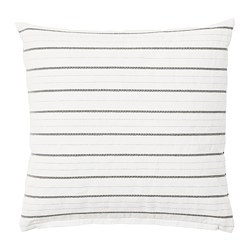 KONSTANSE - Cushion, white/dark grey
