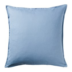 GURLI - Cushion cover, light blue