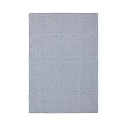 LOVRUP - Karpet, anyaman datar, buatan tangan biru