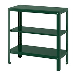 KOLBJÖRN - Shelving unit in/outdoor, green