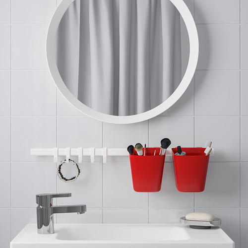SUNNERSTA - wadah, merah, 12x11 cm | IKEA Indonesia - PE752467_S4