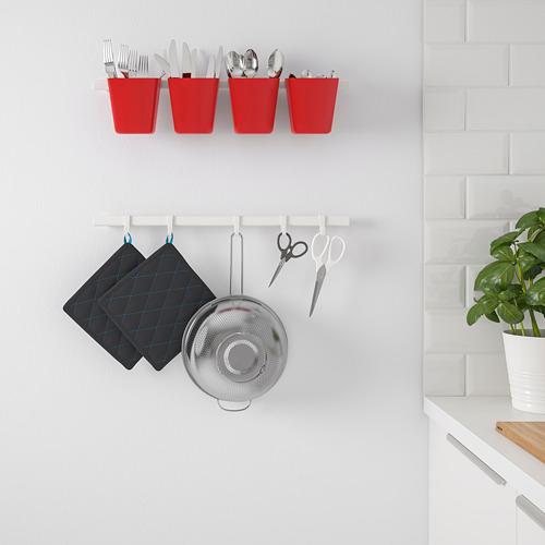 SUNNERSTA - wadah, merah, 12x11 cm | IKEA Indonesia - PE752464_S4