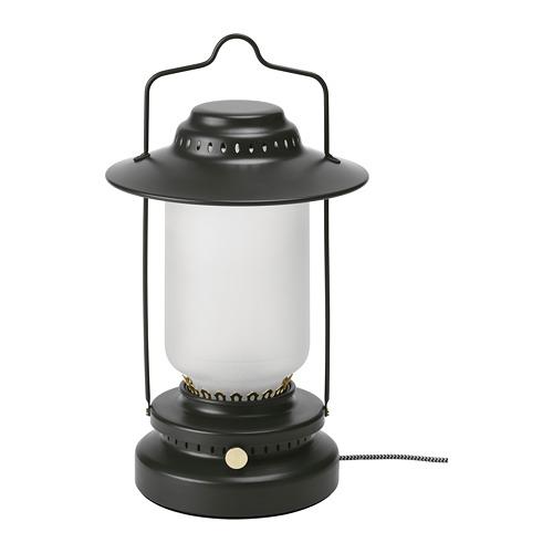 STORHAGA - Lampu meja LED, dapat diredupkan luar ruang/hitam, 35 cm | IKEA Indonesia - PE752459_S4