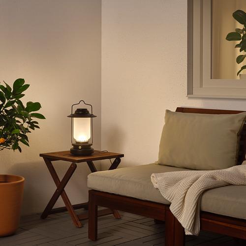 STORHAGA - Lampu meja LED, dapat diredupkan luar ruang/hitam, 35 cm | IKEA Indonesia - PE752472_S4