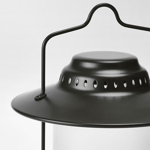 STORHAGA - Lampu meja LED, dapat diredupkan luar ruang/hitam, 35 cm | IKEA Indonesia - PE752478_S4