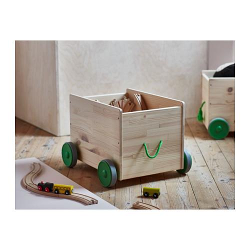FLISAT penyimpanan mainan dengan roda