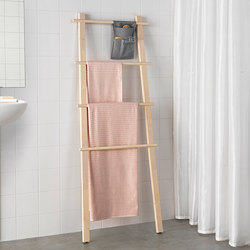 VILTO - Towel stand, birch