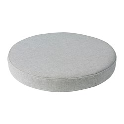 OMTÄNKSAM - Chair cushion, Orrsta light grey
