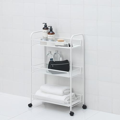 HORNAVAN - trolley, white, 26x48x77 cm | IKEA Indonesia - PE654024_S4
