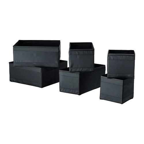 SKUBB kotak, set isi 6