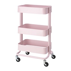 RÅSKOG - Trolley, light pink