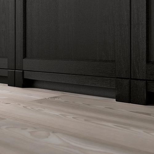 LERHYTTAN - lis bawah dekoratif, diwarnai hitam, 220 cm | IKEA Indonesia - PE689138_S4