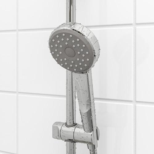 BROGRUND - rel riser dengan alat handshower, dilapisi krom   IKEA Indonesia - PE668847_S4