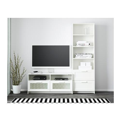 BRIMNES kombinasi penyimpanan TV