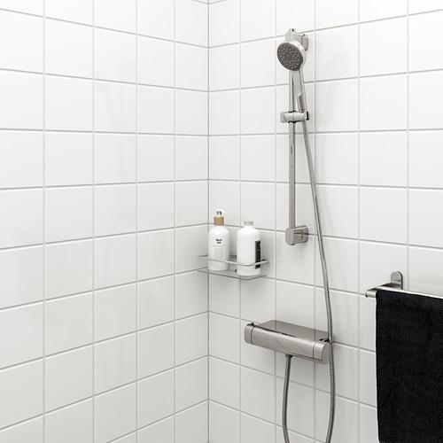BROGRUND - rel riser dengan alat handshower, dilapisi krom   IKEA Indonesia - PE668866_S4