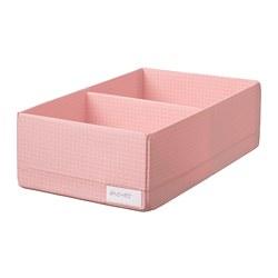 STUK - Kotak dengan kompartemen, merah muda