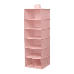 STUK - Storage with 7 compartments, pink