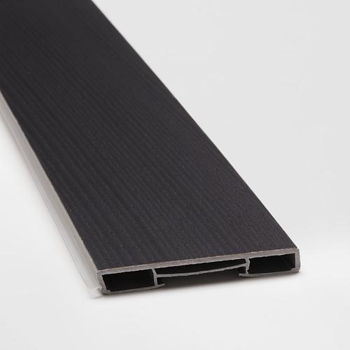 LERHYTTAN - lis bawah, diwarnai hitam, 220x8 cm | IKEA Indonesia - PE666066_S4