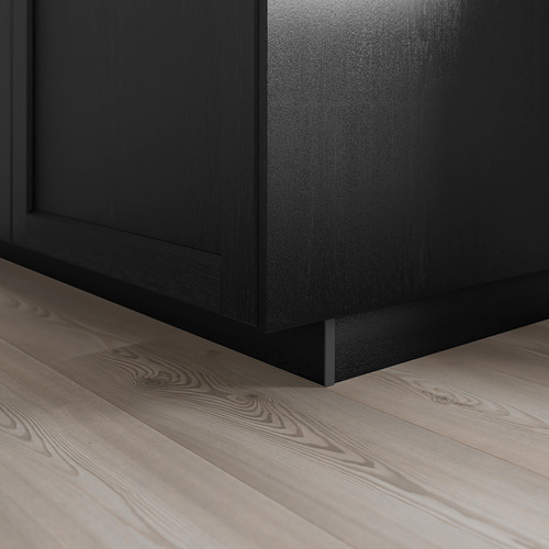 LERHYTTAN - lis bawah, diwarnai hitam, 220x8 cm | IKEA Indonesia - PE689148_S4