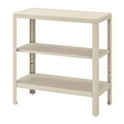 KOLBJÖRN - Shelving unit in/outdoor, beige
