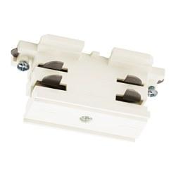 SKENINGE - Straight connector, white