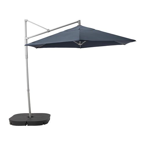 LINDÖJA/OXNÖ tenda payung, gantungan dg bg dasar