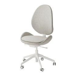 HATTEFJÄLL - Office chair, Gunnared beige